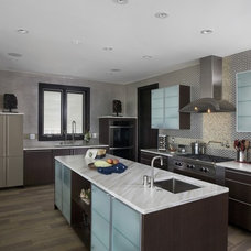 Contemporary Kitchen by Orren Pickell Building Group