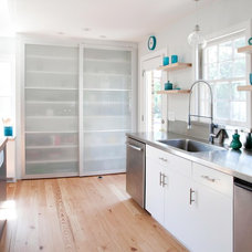 Contemporary Kitchen by Plain & Fancy Custom Cabinetry