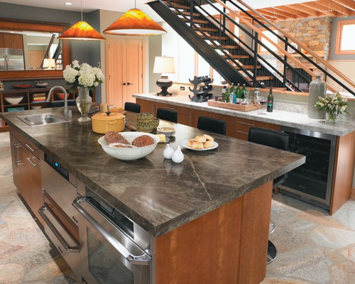 Slate Counter us evercore slate counter top | houzz