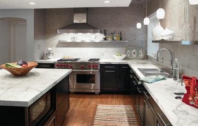 Kitchen Counters: Plastic Laminate Offers Options Aplenty