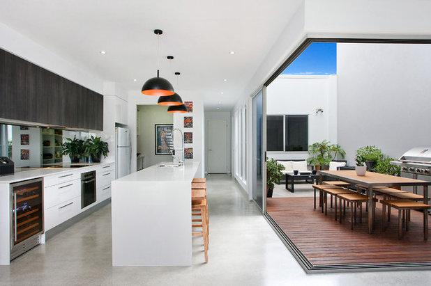 Contemporain Cuisine Contemporary Kitchen