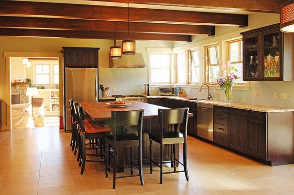 Craftsman Kitchen by Hood River reDesign