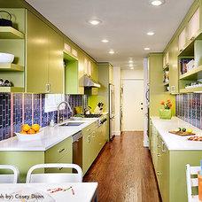 Contemporary Kitchen by Laura Britt Design
