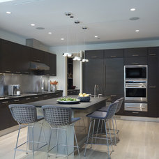 contemporary kitchen by Jessica Lagrange