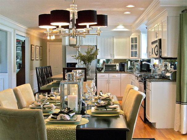 Contemporary Kitchen by Stacy Curran