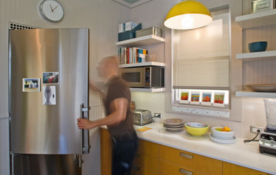 Kitchen of the Week: Bright and Modern in 90 Square Feet