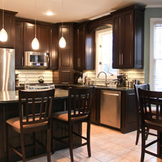 Contemporary Kitchen Cabinets by Design Concepts Contractors, Inc.