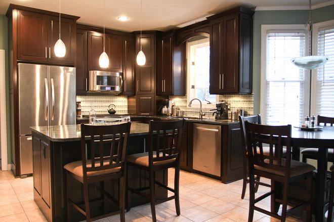 Contemporary Kitchen by Design Concepts Contractors, Inc.