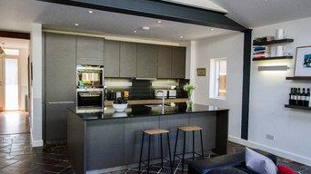 Contemporary kitchen in East Twickenham