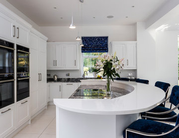 Contemporary kitchen in Herts