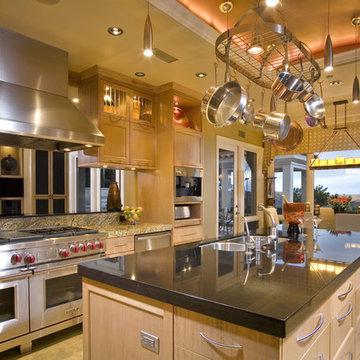 Contemporary Kitchen in Newport Coast, CA 92657, view 1