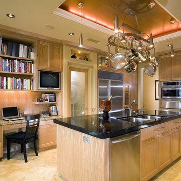 Contemporary Kitchen in Newport Coast, CA 92657, view 3