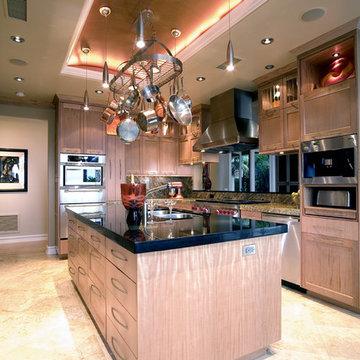 Contemporary Kitchen in Newport Coast, CA 92657, view 4