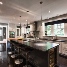 Contemporary Kitchen by Thomas Guy Carpentry