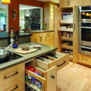 Contemporary Kitchen in Wayland