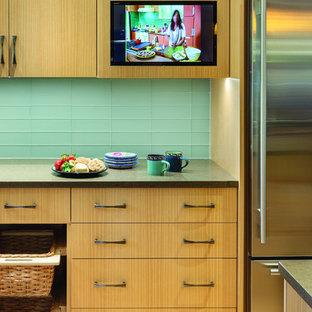 Contemporary Kitchen in Wayland