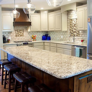 75 Most Popular Wichita Kitchen With Beaded Inset Cabinets ...