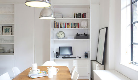 How to Fit a Home Office or Workstation into Your Kitchen