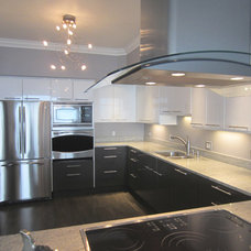 Contemporary Kitchen by NW HomeWorks