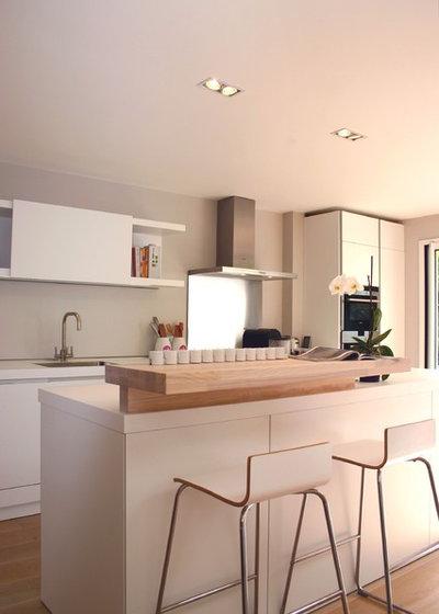 Contemporaneo Cucina Contemporary Kitchen