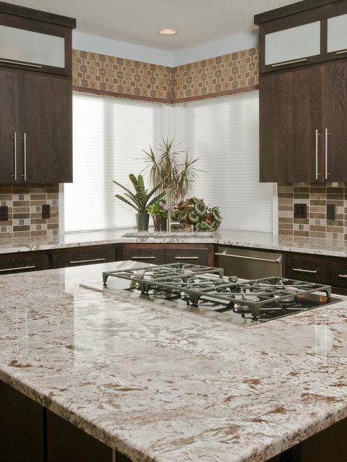 White Spring Granite Countertop Houzz