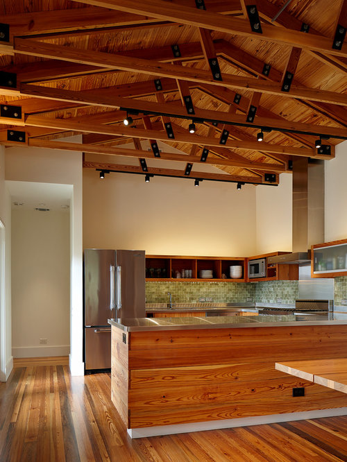 Exposed Wood Trusses | Houzz