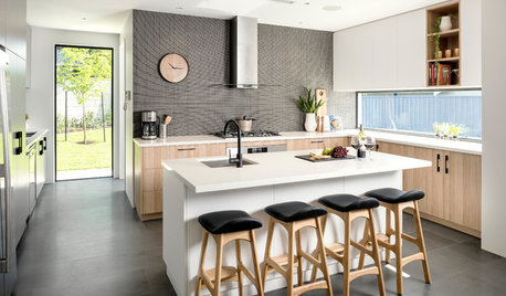 How Do I... Choose Cabinetry for a Dark Kitchen Floor?