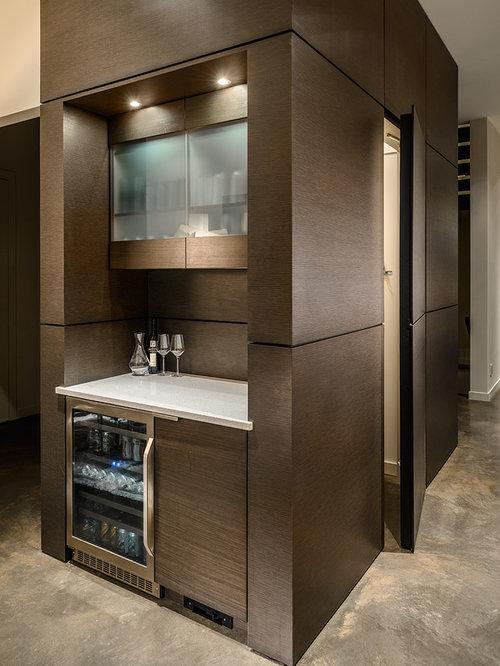 Coffee bar and mini fridge in master bat home design ideas for Mini coffee bar