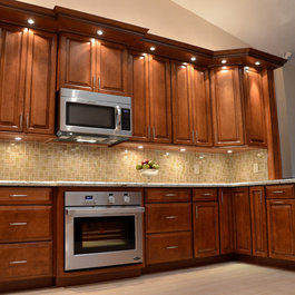 Cherry Kitchen Cabinets Cashew Color