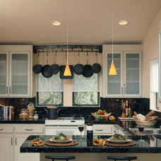 Contemporary Kitchen by Kathy Bloodworth Interior Design