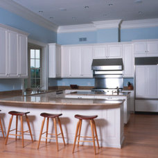 Contemporary Kitchen by Kent Cabinetry and Millwork Inc