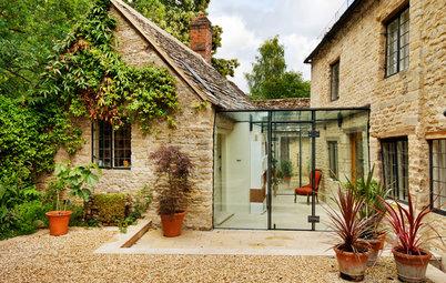 10 Ideer til udbygninger med glas