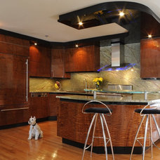 Contemporary Kitchen Cabinetry by Kitchens By Design, Inc.