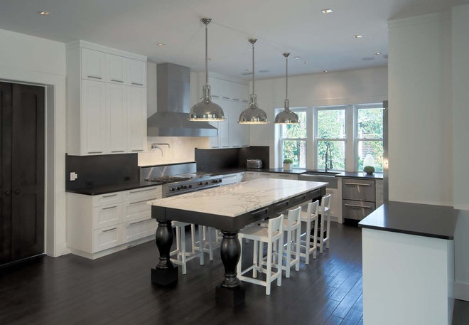 contemporary kitchen by kmh design, inc.
