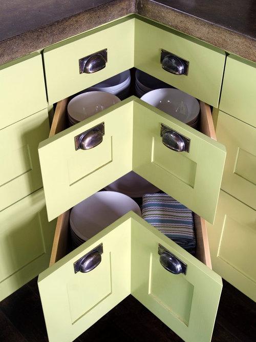 Kitchen Corner Storage Ideas, Pictures, Remodel and Decor