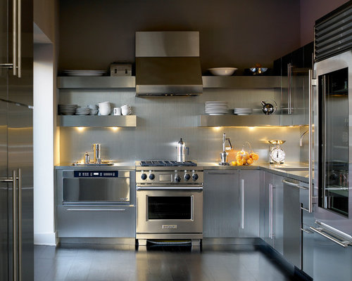 Stainless Steel Kitchen Home Design Ideas Pictures