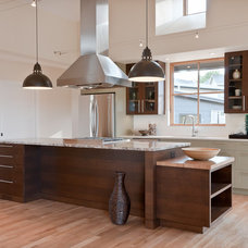 contemporary kitchen by Marc Hunter Woodworking | Design