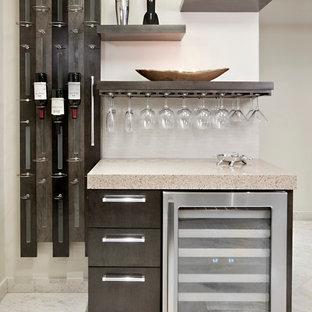 Photo of a contemporary kitchen in Miami.