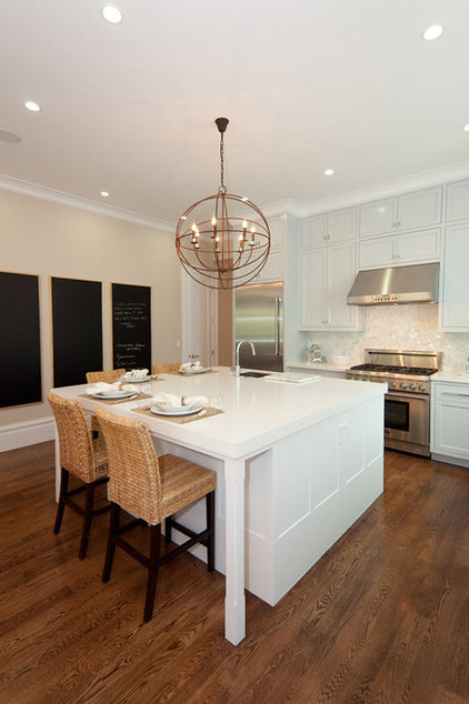 Contemporary Kitchen by Marsh and Clark Design