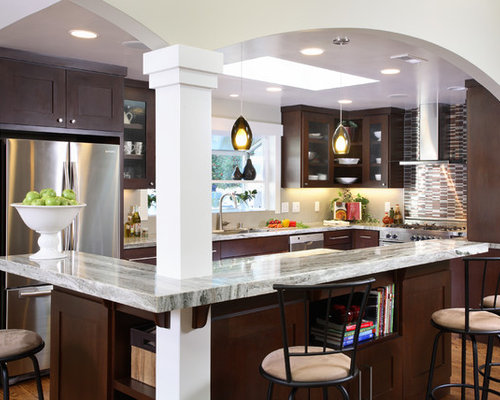 kitchen columns houzz. Black Bedroom Furniture Sets. Home Design Ideas