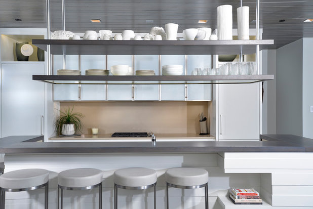Cosa mettere su mensole e scaffali sopra l isola della cucina - Cos e l abbattitore in cucina ...