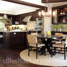 Contemporary Kitchen by Stiles | Fischer Interior Design