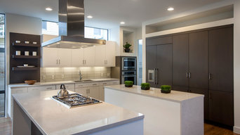 Contemporary Kitchen, New Construction