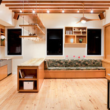Contemporary Kitchen by Nicole Migeon Architect, PLLC