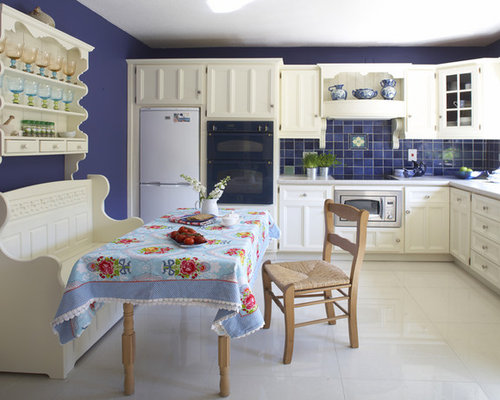 Blue And White Kitchen Ideas, Pictures, Remodel And Decor