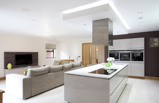 home lighting effects. contemporary kitchen by parkes interiors home lighting effects