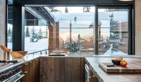 Consigli di Stile: La Cucina Ideale di una Casa in Montagna