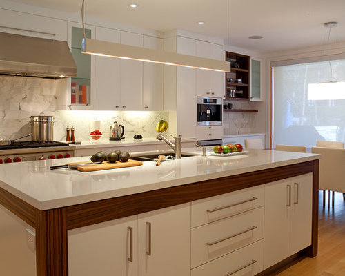 Flat Face Cabinets Houzz