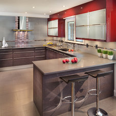 Contemporary Kitchen by Porcelanosa USA