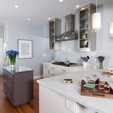 Contemporary Kitchen by Precision Cabinets